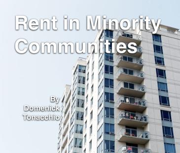 rent in minority communities by domenick tonacchio